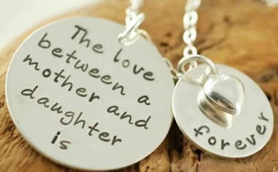 Love Quotes For Mother From Daughter:the love between a mother and daughter is forever