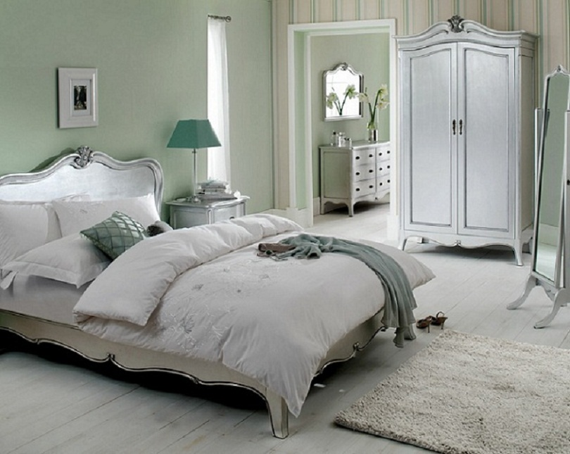 silver and cream bedroom furniture ideas