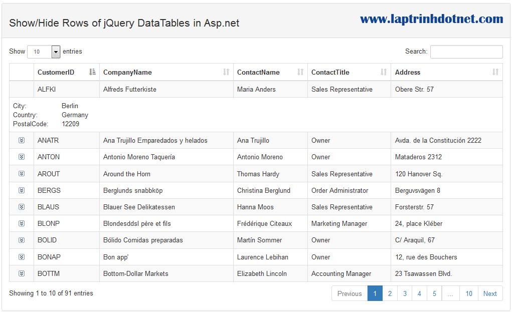 Jquery Datatable Get Total Records