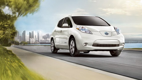 The Nissan LEAF is the top-selling electric car in the US and the world. (Credit: Nissan) Click to enlarge.