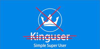 Mengganti Kingroot king user dan root akses china ke SuperSu