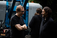 James Gray and Jeremy Kleiner on the set of The Lost City of Z (25)