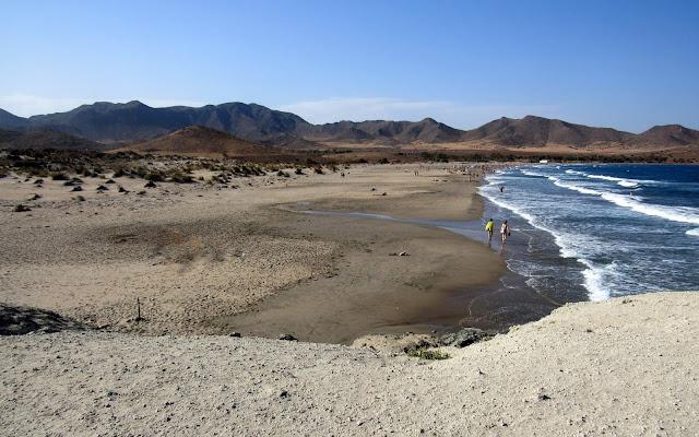 Playa de los Genoveses. Cabo de Gata