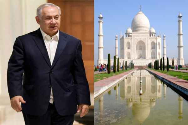 आज इजरायल के PM बेंजामिन नेतनयाहू करेंगे दुनिया के सबसे खूबसूरत कब्रिस्तान ताज महल का दीदार