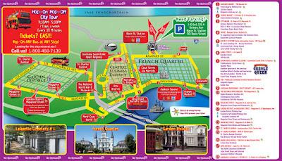 hop on hop off new orleans bus tour route