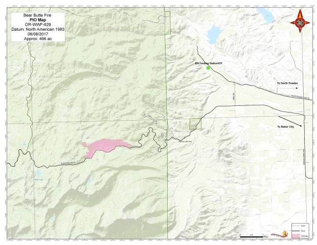 The Anthony Lakes Resort Has Been Evacuated The U S Forest Service Has Closed A Forest Area Around The Fire Learn More
