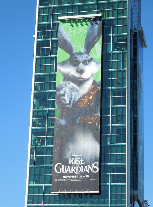 Giant Bunnymund Rise of Guardians billboard