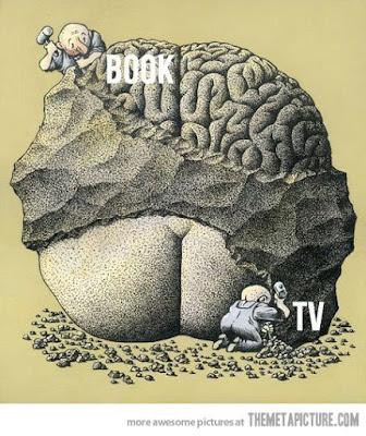books vs tv