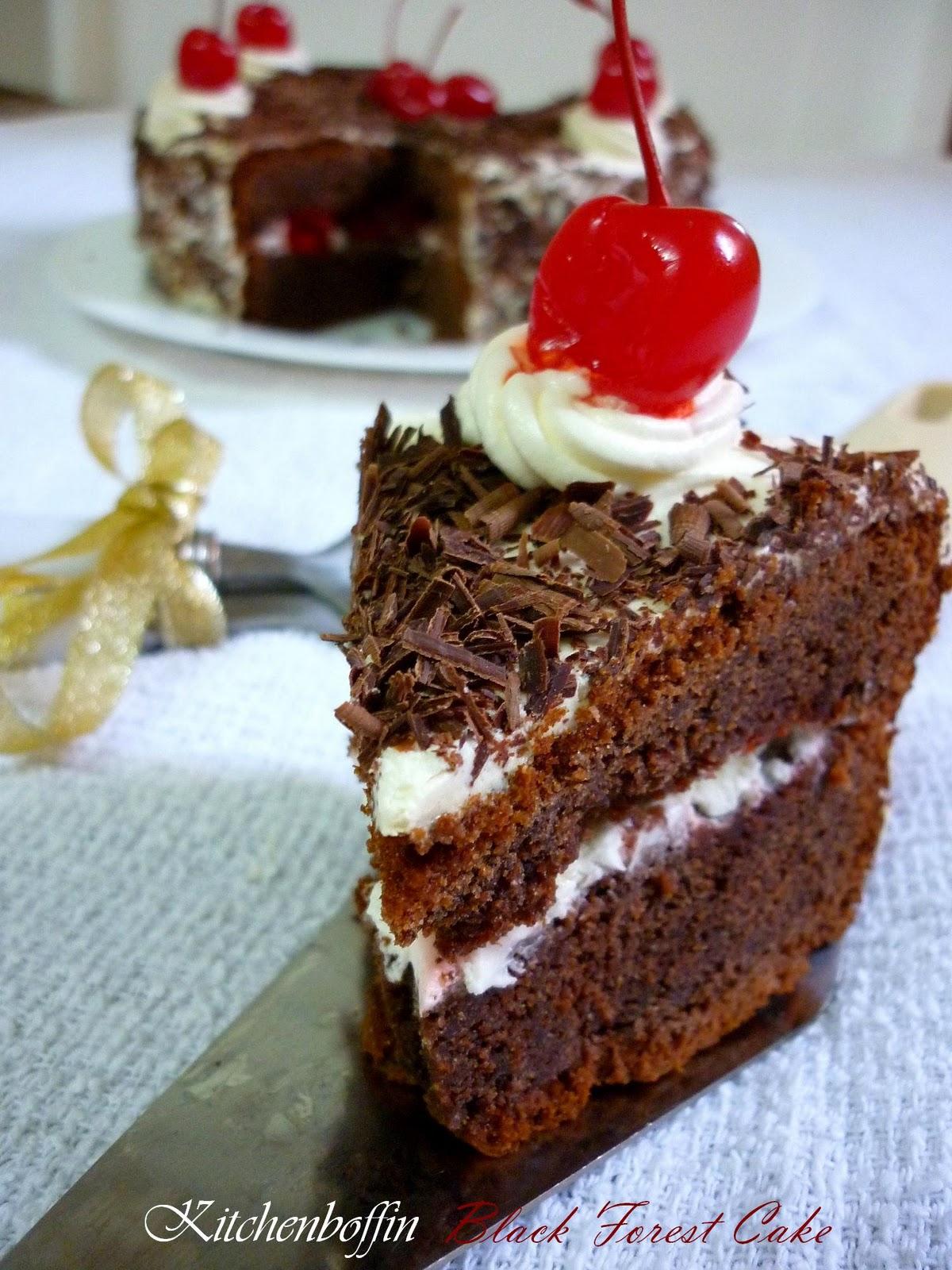 Kitchen Boffin Black Forest Cake