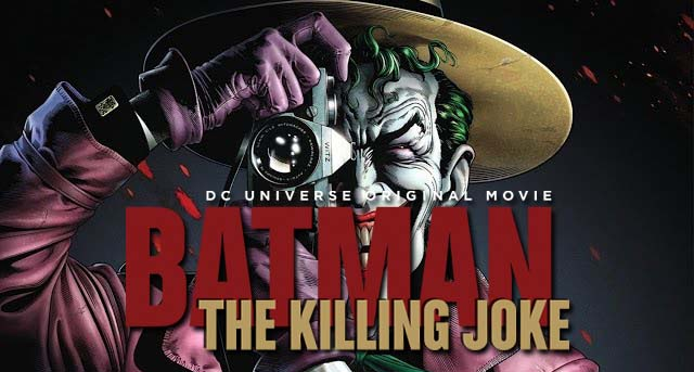batman the killing joke cover poster bercerita tentang