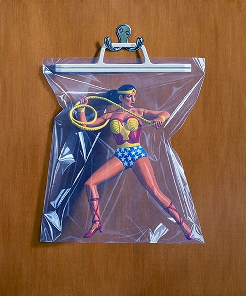 08-Diana-Prince-Wonder-Woman-Simon-Monk-Bagged-Superheroes-in-Painting-www-designstack-co