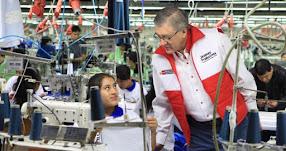 Más de 300 jóvenes capacitados por el MTPE ingresarán a trabajar en empresas textiles de Lima Norte