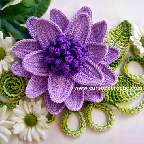 Full of Color Cabbage Flowers - Tutorial