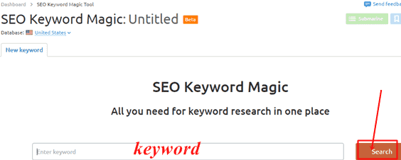 keyword research free tool se,