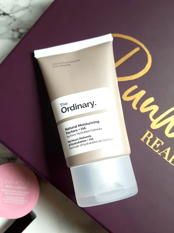 Unboxing: lookfantastic Beauty Box Februar - The Ordinary - Natural Moisturizing Factors + HA - 30ml - ca. 6.- Euro