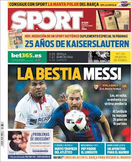 portada Sport 06/11/2016