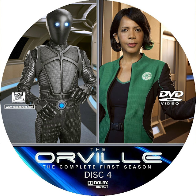 The Orville Season 1 Disc 4 Label Cover