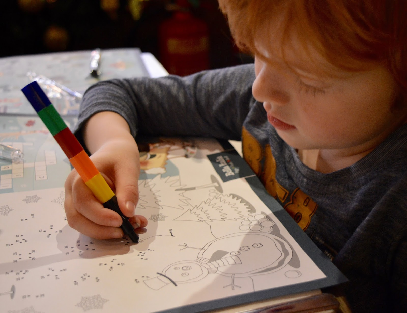 Bella Italia at intu Eldon Square Newcastle | Children's Menu Review - kids activities