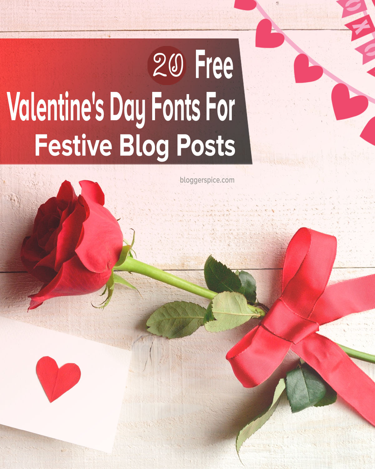 how to get free romantic font for Valentine's day
