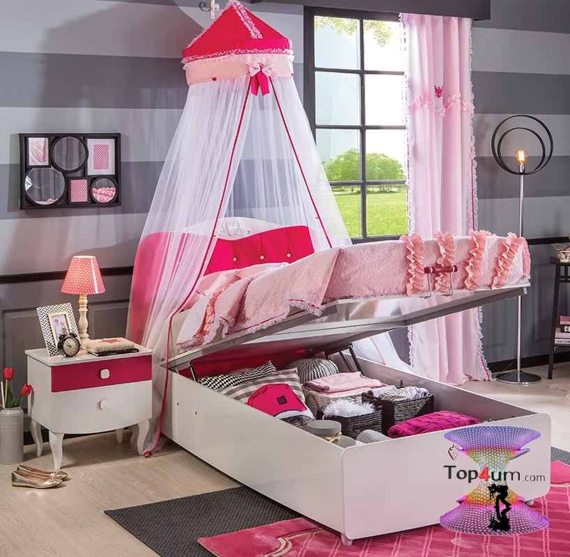 غرف نوم اطفال 2020 باحدث طراز للمساحات الصغيرة Top4