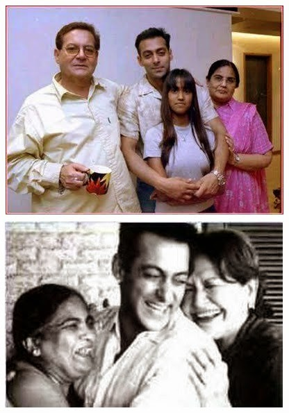 Salman Khan With Father and Mother