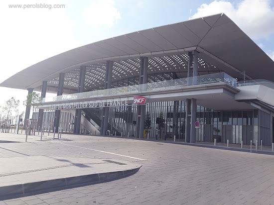 Gare TGV  Montpellier