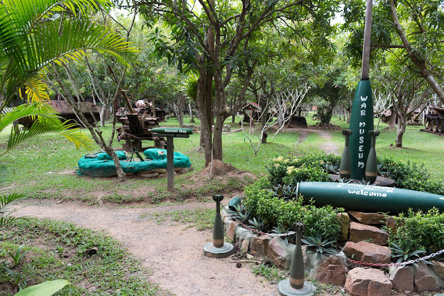 things to do in cambodia war museum