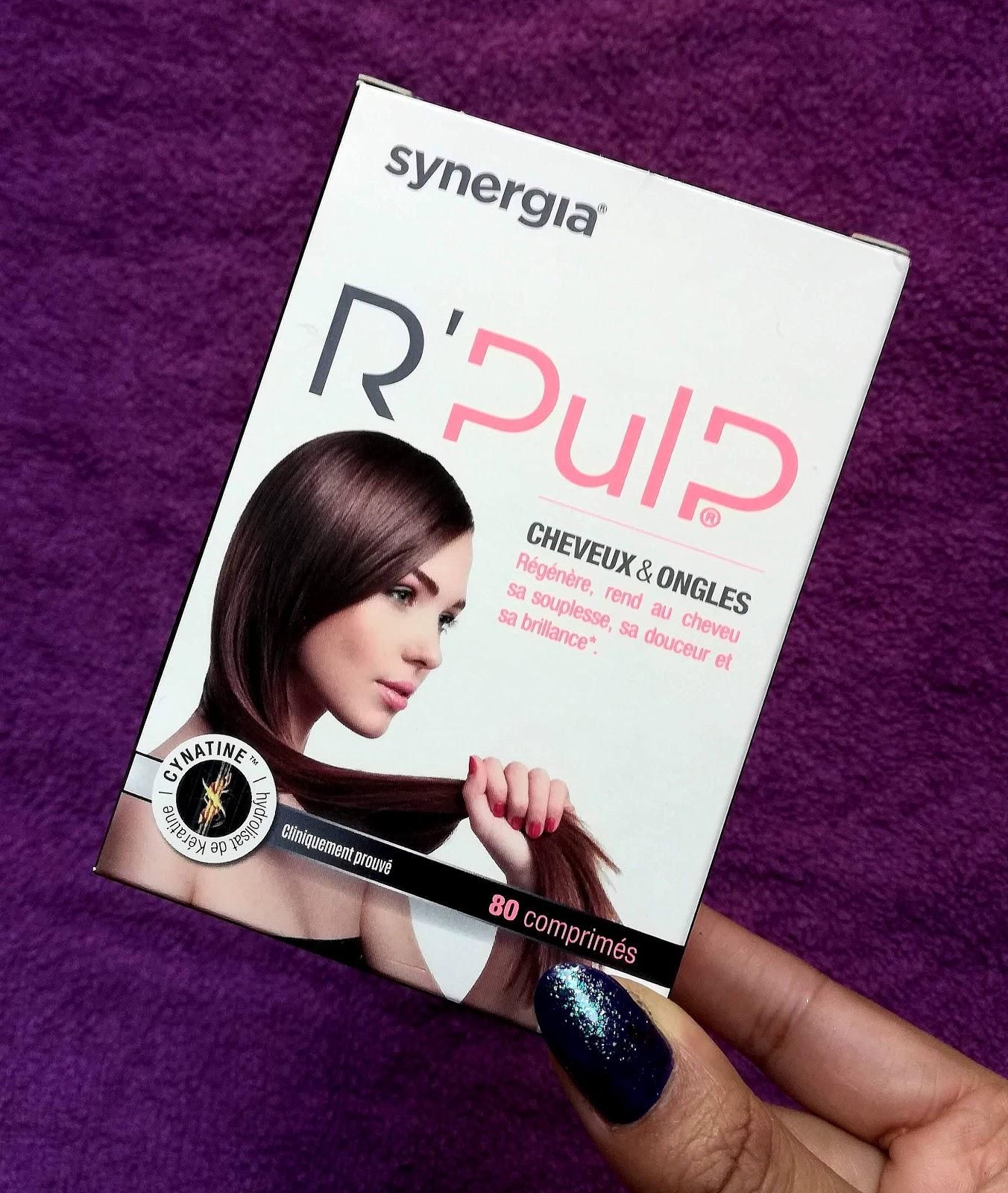 R'Pulp Cheveux et ongles Laboratoire Synergia