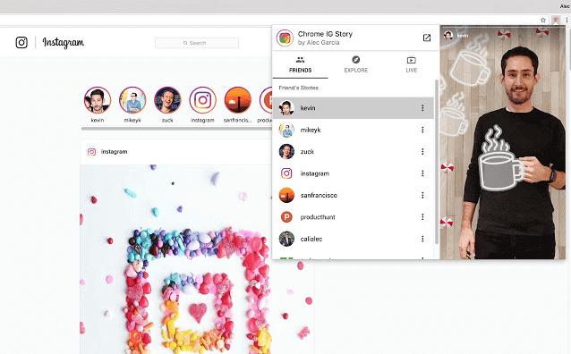 Mendownload dan melihat stories Instagram seseorang