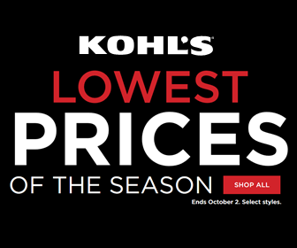 Kohls Lowest Price of the Season Promo 2016