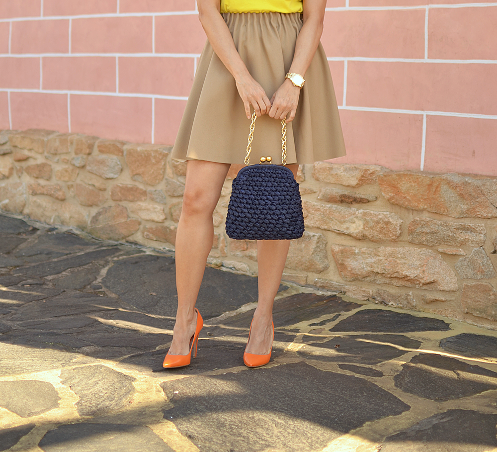 Color blocking street style