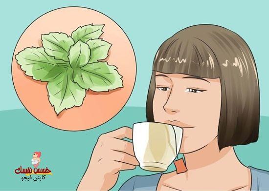 شاي الزنجبيل للتخلص من دهون البطن