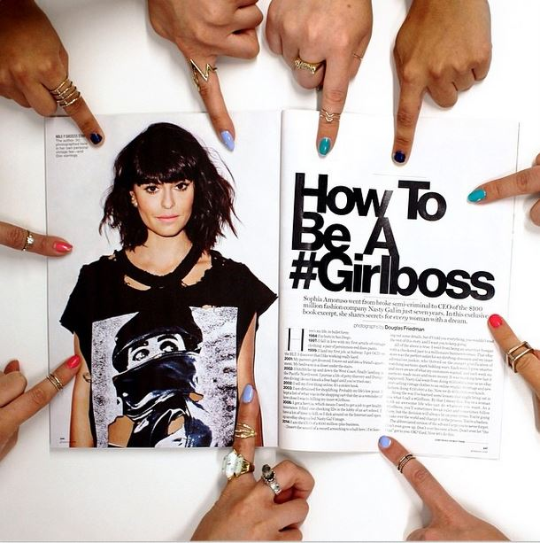 Sophia Amoruso, #Girlboss, Netflix Original, Girlboss Foundation, Nasty Gal, Nasty Galaxy, Nasty Gal Media