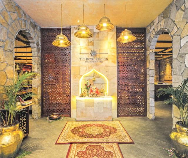 Desain Interior Restoran India