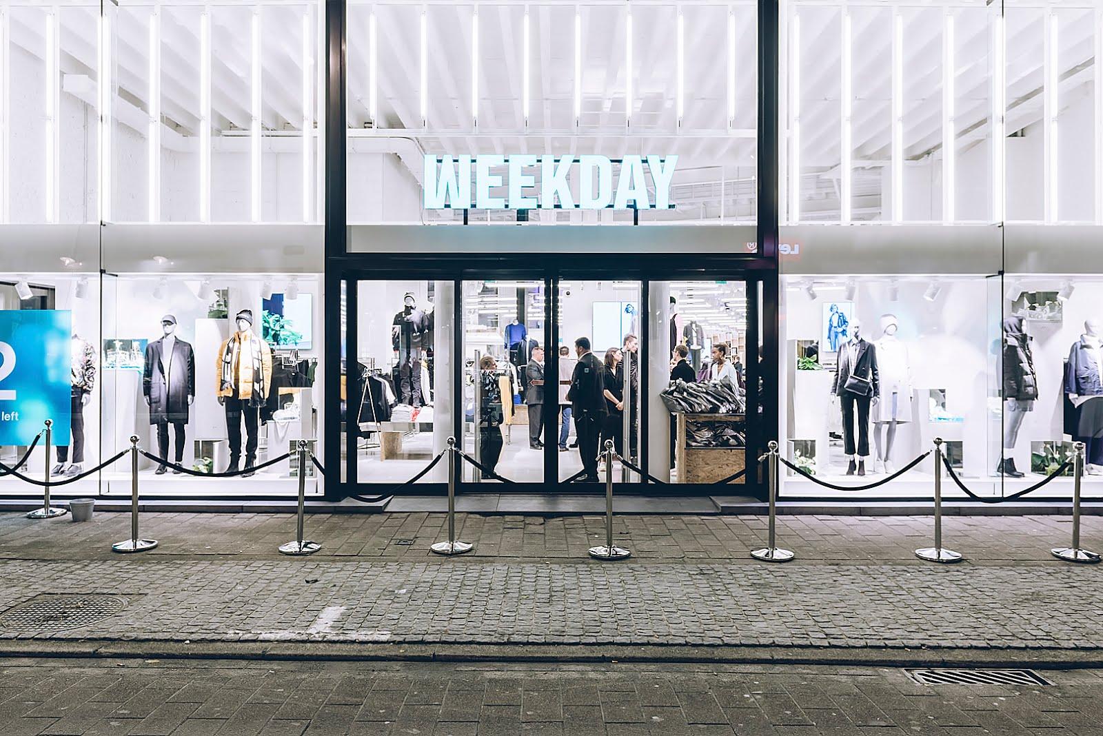 Weekday, antwerp, kammenstraat, opening, front