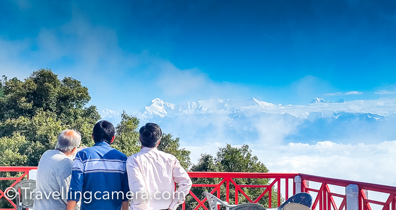 During our recent trip to Binsar, we stayed in KMVN hotel which offers great views of main mountains of Uttrkhand. This Photo Journey shares some interesting facts about these mountain ranges and relevant details.