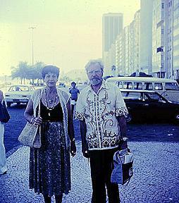 Hynek and Irene Granchi, Brazil, 1979 (250 px)