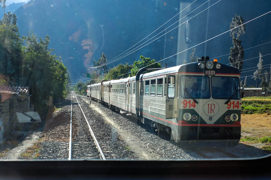 Inca Rail from Machu Picchu to Ollantaytambo