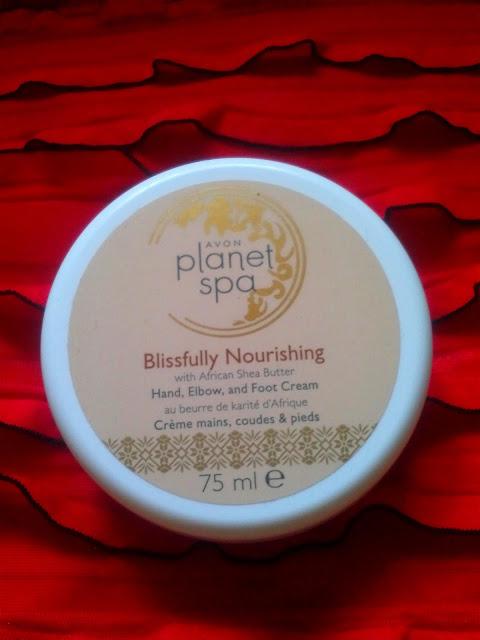 Avon, Planet Spa, Blissfully Nourishing - Odżywczy krem do rąk, stóp i łokci.