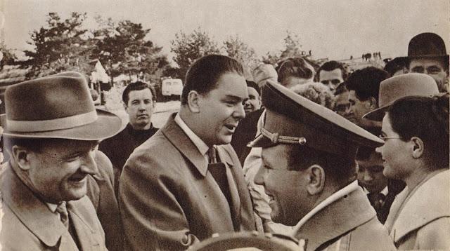 9 октября 1963 года. Встреча Юрия Гагарина в Риге
