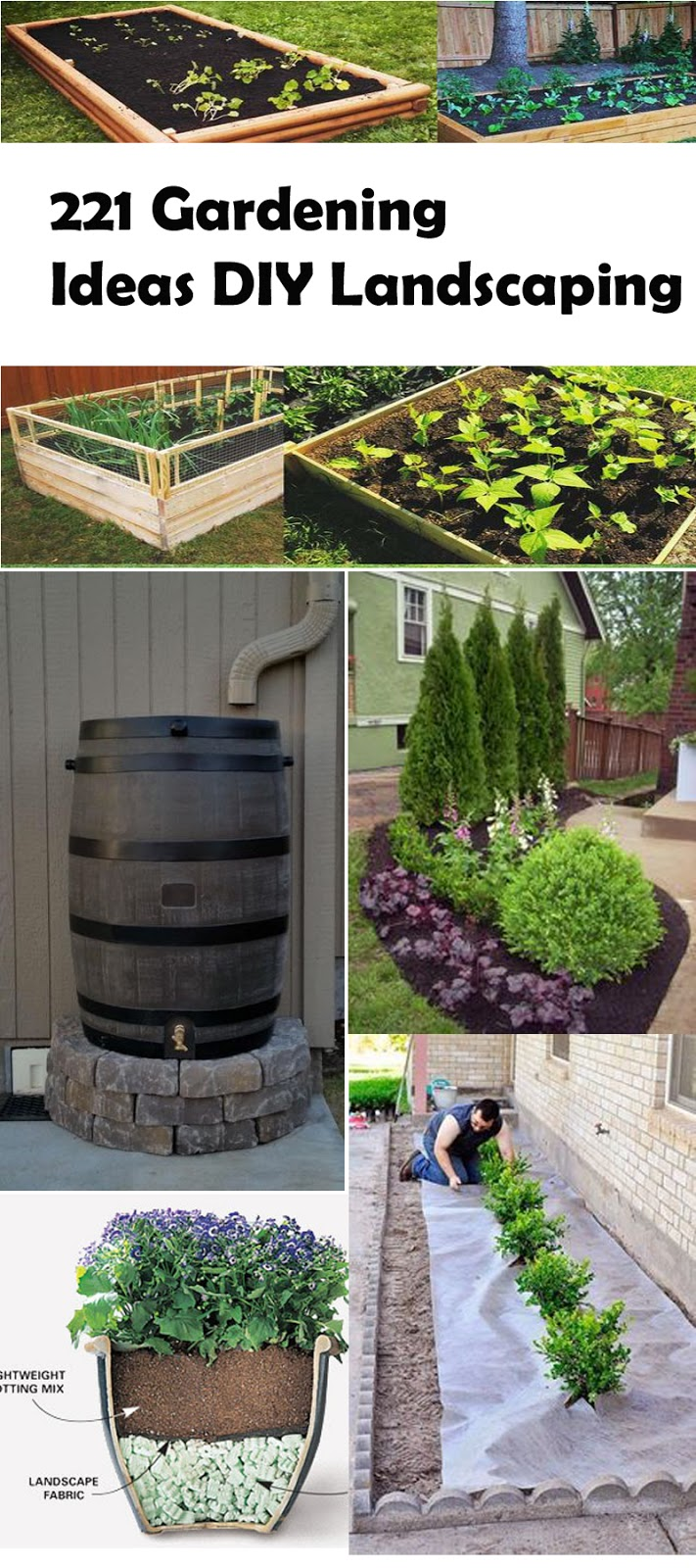 221 gardening ideas diy landscaping a blog on garden - Garden ideas diy ...