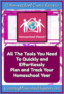 Homeschool Planet planning system offers all the tools you need to quickly and effortlessly plan and track your homeschool year #hsreviews #HomeschoolBuyersCo-op #savings #smartpoints #homeschoolplanet #freecurriculum
