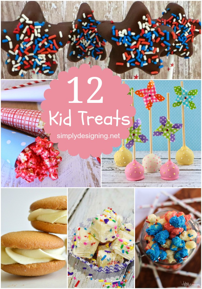 12 Kid Treats | #kids #recipes #kidfoods