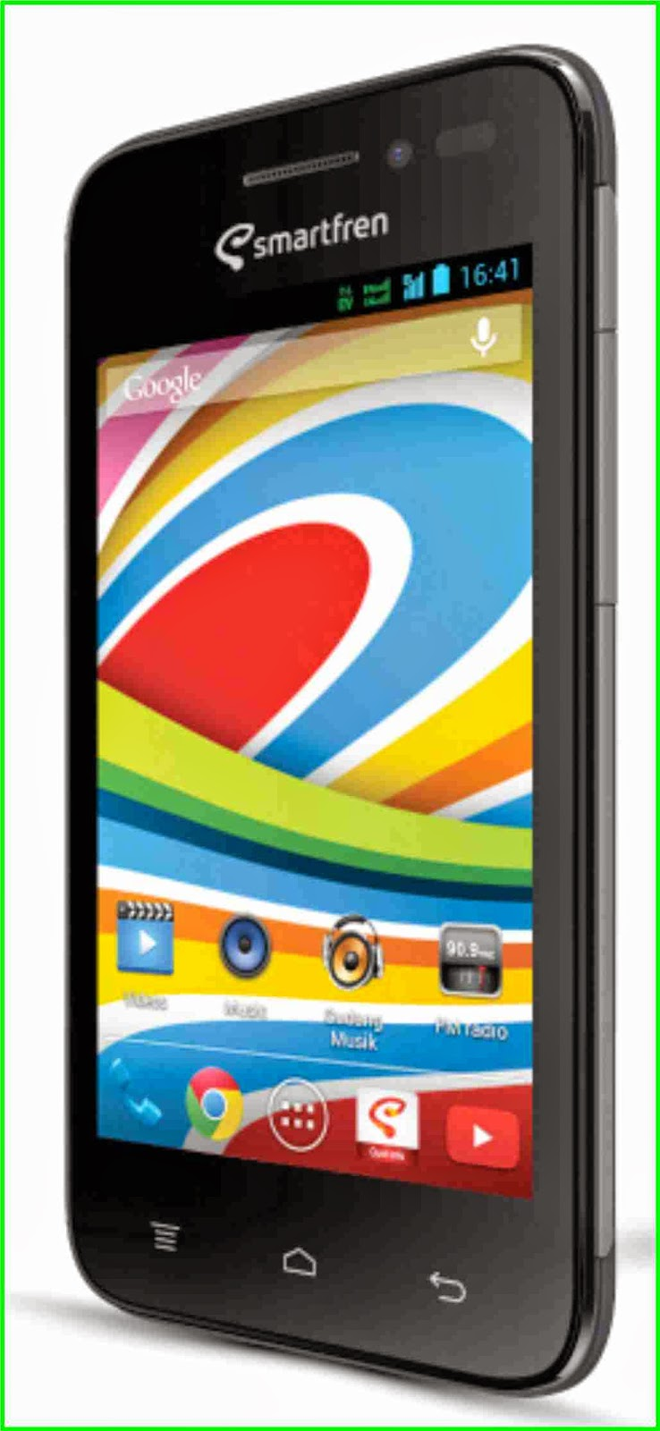 Mengenal Mobile Phone Murah Berbasis Android,smartfren andromax g,