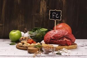 Des aliments riches en fer