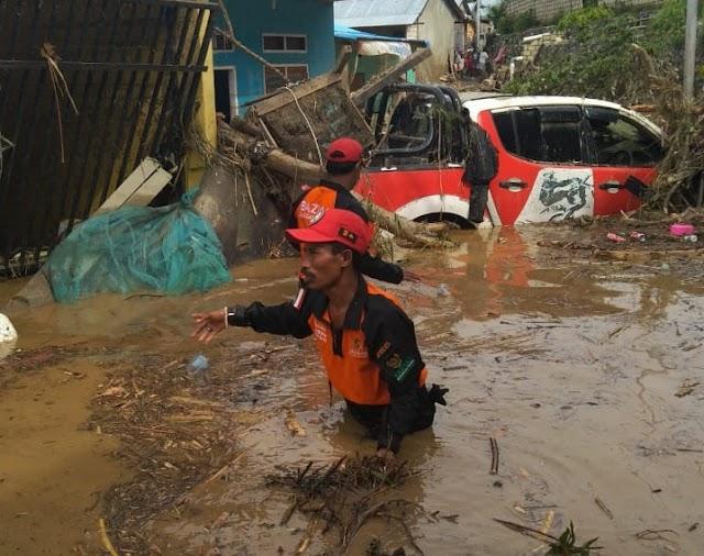 BAZNas Terjunkan Tim Bantuan Korban Banjir Bandang Di Sentani