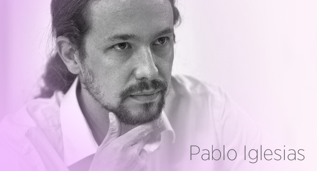 "Pablo Iglesias: ""La crisis del PSOE como crisis de régimen"""