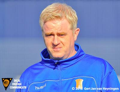 Coach Marcel van den IJssel van IJFC uit IJsselstein