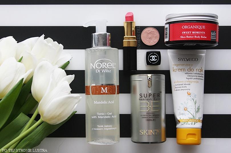 Ulubieńcy lutego - Chanel, Organique, MAC, Norel, Skin79, Sylveco