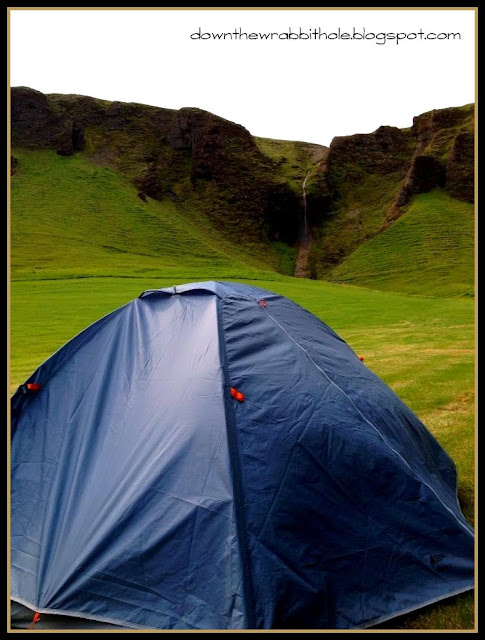 camping in Kirkjubaejarklauster, where to camp in Iceland
